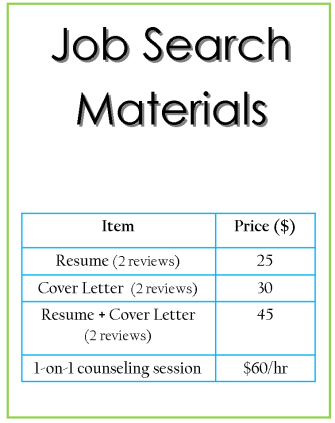 job-search-materials