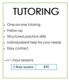 tutoring rates